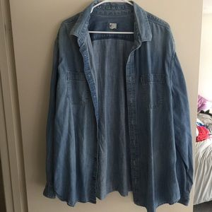 Toms Shirts - Toms Denim Shirt
